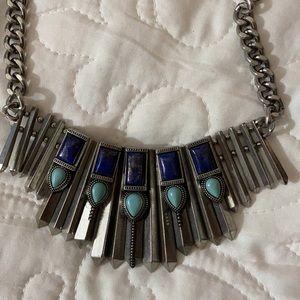Beautiful semi stone necklace